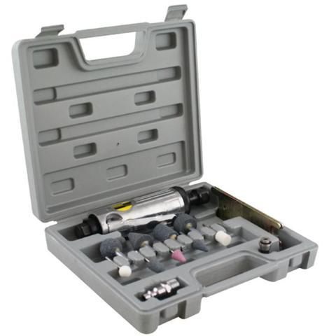 Imagem de Mini Retífica e Esmeril Pneumático 8NJ c/ Maleta e Acessórios EDA