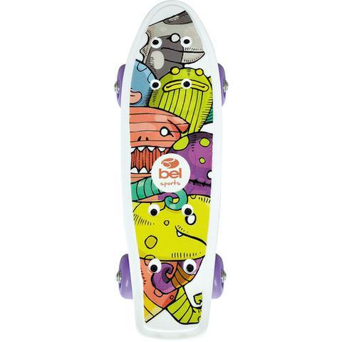 Imagem de Mini Skate Infantil PP 414100 Bel Fix Sortido