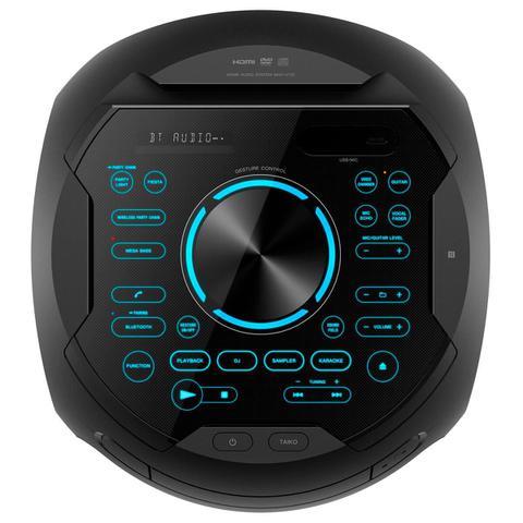 Imagem de Mini System Bluetooth Sony MHC-V71D Tipo Torre com DVD Conexão HDMI ARC Iluminação 360