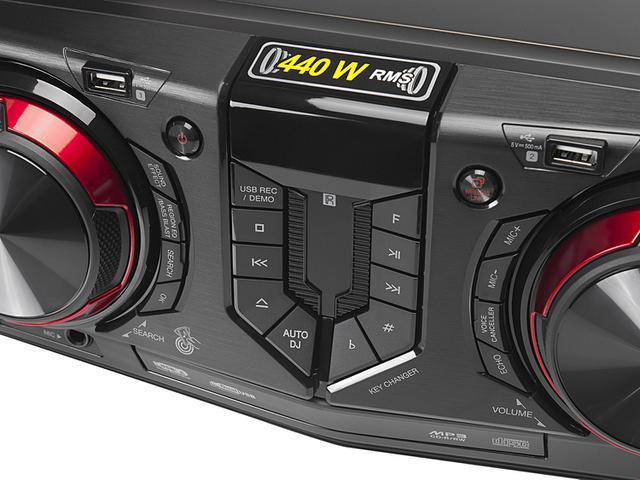 Imagem de Mini System LG Bluetooh USB MP3 CD Player 440W