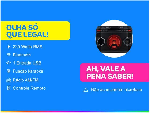 Imagem de Mini System LG Bluetooth 220W CD Player Karaokê