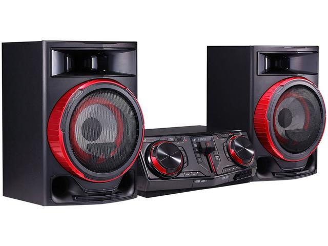 Imagem de Mini System LG Bluetooth Dual USB MP3 CD Player