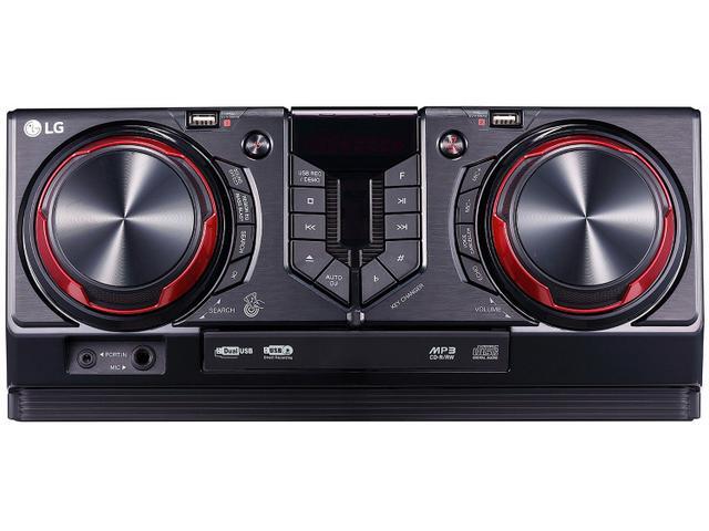 Imagem de Mini System LG Bluetooth Dual USB MP3 CD Player