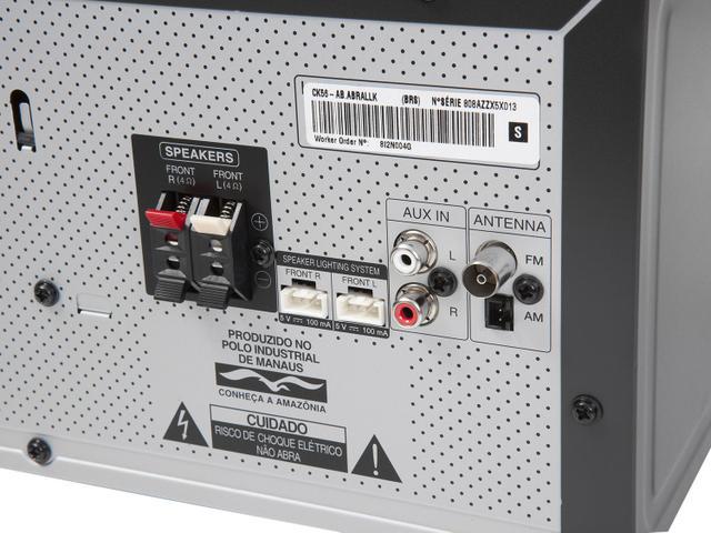 Imagem de Mini System LG Bluetooth USB CD Player AM/FM