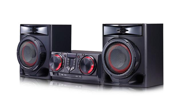 Imagem de Mini System LG CJ44 440W Multi Bluetooth Karaokê USB Multi Juke Box