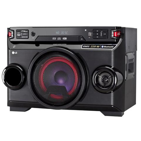 Imagem de Mini System LG OM4560, Multi Bluetooth, USB, MP3, 200W - Bivolt
