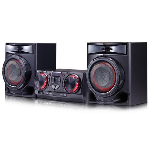Imagem de Mini System LG X Boom CJ44 440W RMS com Multi Bluetooth Dual USB Karaokê e Auto DJ  Bivolt