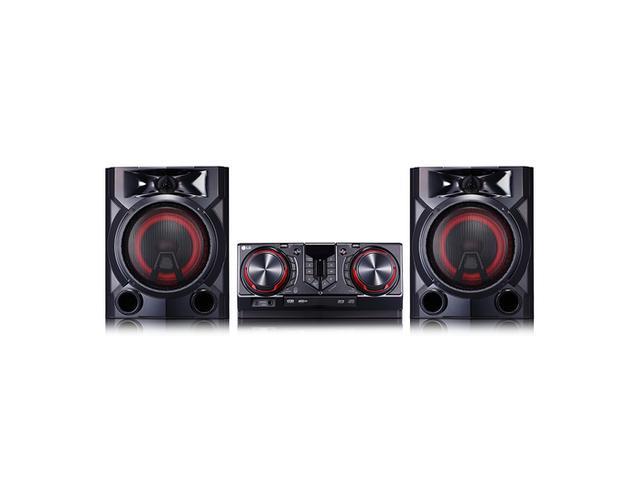 Imagem de Mini System LG XBOOM CJ65, 810W, LG Musi Flow Bluetooth, Multi Playlist, Sound Sync Wireless,+ Potência, Karaokê, Dual U
