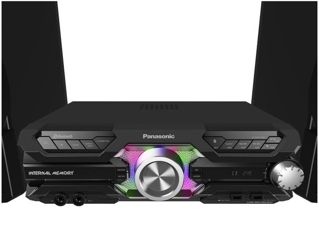 Imagem de Mini System Panasonic Bluetooth USB MP3 CD Player