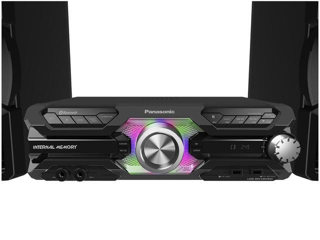 Imagem de Mini System Panasonic Bluetooth USB MP3 CD Player
