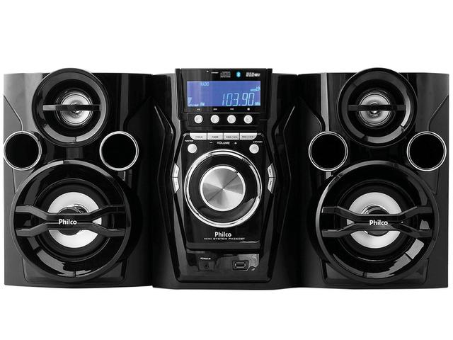 Imagem de Mini System Philco Bluetooth USB MP3 CD Player
