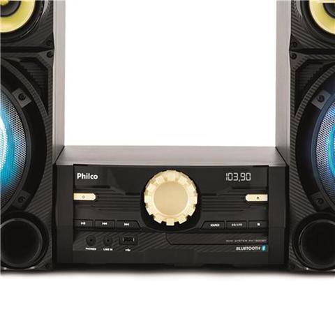 Imagem de Mini System Philco PH1800BT, USB, Bluetooth, 1600W - Bivolt