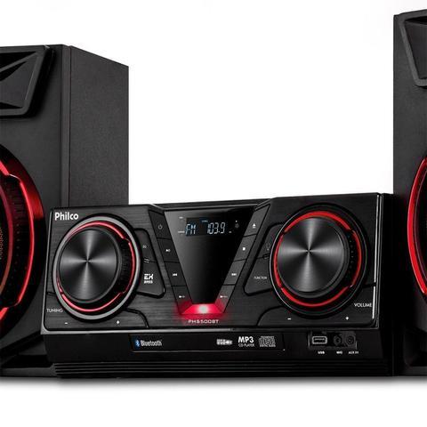 Imagem de Mini System Philco PHS500BT, Bluetooth, USB, Rádio FM - Bivolt