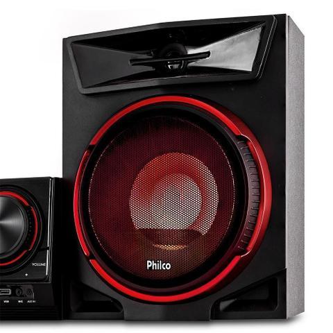 Imagem de Mini System Philco PHS500BT, USB, Bluetooth, 500W RMS