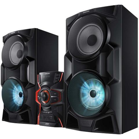 Imagem de Mini System Samsung MX-HS6500/ZD com Modo Futebol, Bluetooth, Iluminação LED e Entradas USB - 2.000 W
