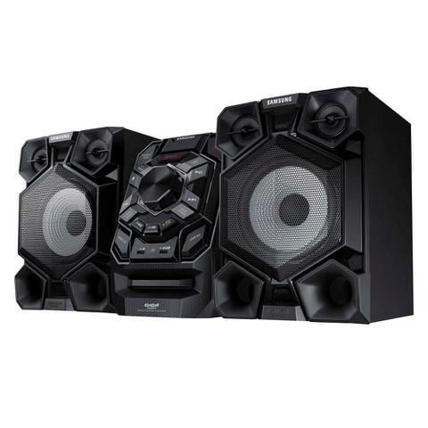 Imagem de Mini System Samsung MX-J730/ZD com MP3, Bluetooth, Duplo USB, Entrada Auxiliar, Giga Sound e Ripping  500 W