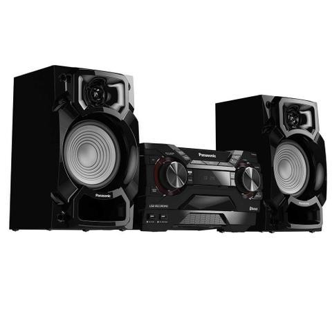Imagem de Mini System SC-AKX220LBK, 2 USB, Bluetooth, Max Juke, 450W RMS - Panasonic