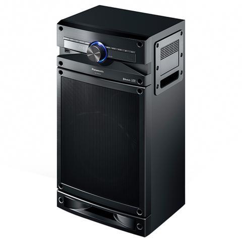 Imagem de Mini System SC-CMAX4LB-K, com Bluetooth, 1 USB, D-Bass Beat, Função Karaokê, 250W RMS - Panasonic