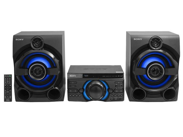 Imagem de Mini System Sony Bluetooth DVD USB MP3 CD Player - Rádio FM 1600W MHC-M60D