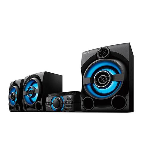 Imagem de Mini System Sony MHC-M80D 1 USB, Bluetooth, HDMI, Função Karaokê e DJ 2150W RMS