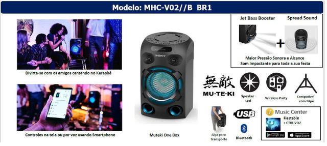 Imagem de Mini system Sony MHC - V02 Bivolt