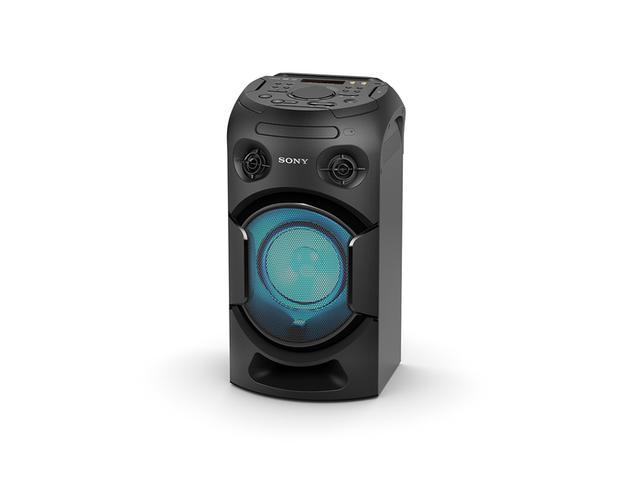 Imagem de Mini System Sony MHC-V21, USB, MP3, FM, Bluetooth, Karaokê, Função DJ, DVD Integrado, HDMI ARC Para Fácil Conexão Com a