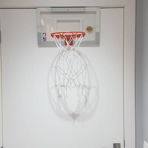 Imagem de Mini Tabela Basquete Spalding NBA Arena Slam 180