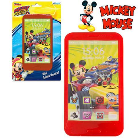 Imagem de Mini Tablet Musical Mickey Estimular A Imaginação Da Criança