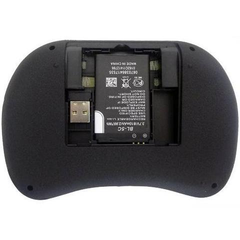 Imagem de Mini Teclado Sem Fio Com Touchpad Mouse Ideal Para Smart Tv Pc Notebook