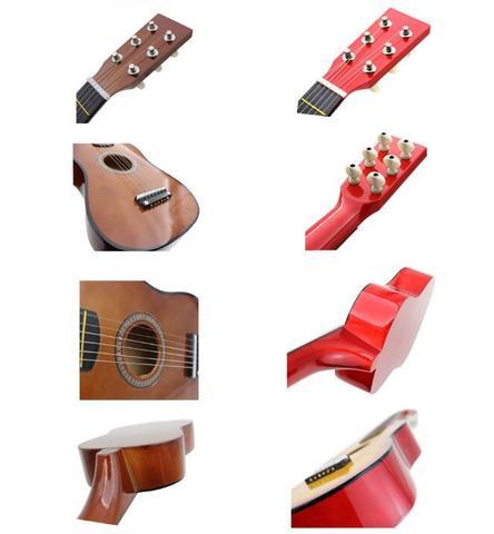 Imagem de Mini violão de madeira musical infantil - string guitar
