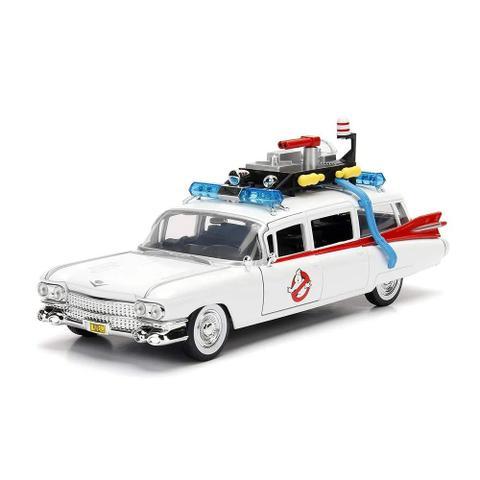 Imagem de Miniatura Cadillac Ecto 1 Caça Fantasmas Ghostbusters 1/24