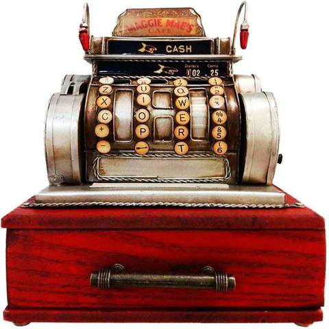 Imagem de Miniatura Caixa Registradora Com Gaveta