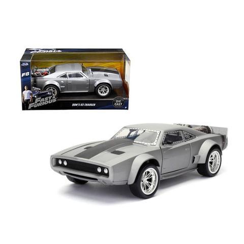Imagem de Miniatura Fast  Furious 8 Doms Ice Charger 1:24 - Jada Toys