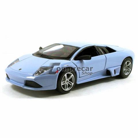 Miniatura Lamborghini Murcielago Lp 640 Azul Maisto 1 24 Carrinhos