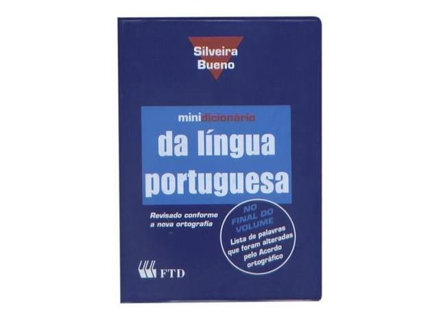Imagem de Minidicionário da Língua Portuguesa Capa PVC Silveira Bueno