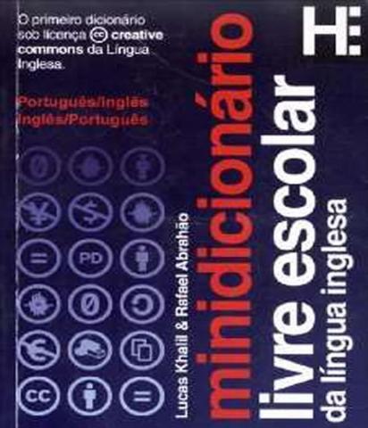 Imagem de Minidicionario Livre Escolar Da Lingua Inglesa