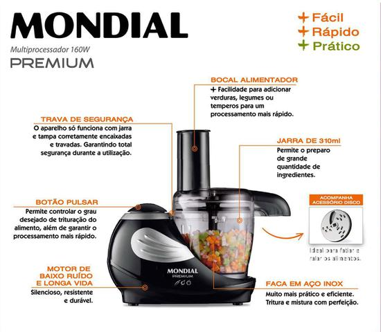 Imagem de Miniprocessador Mondial Premium - MP-02