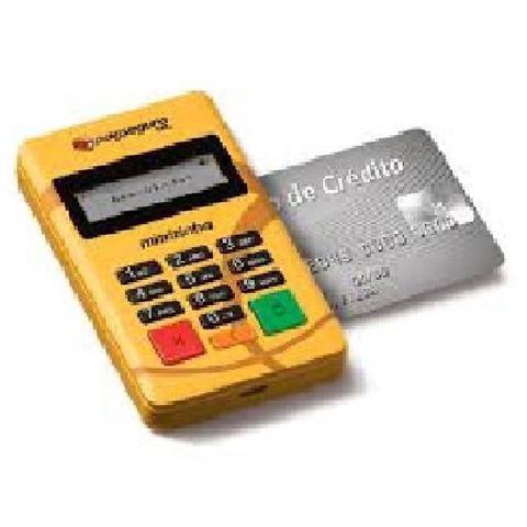 Imagem de Minizinha - leitor de cartão d150, maquininha com conexão por celular via bluetooth
