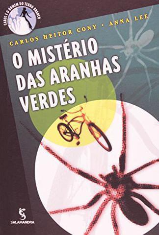 Imagem de Misterio das aranhas verdes, o
