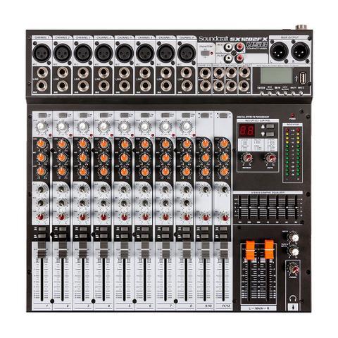 Imagem de Mixer Analógico Soundcraft SX1202FX USB 12 canais