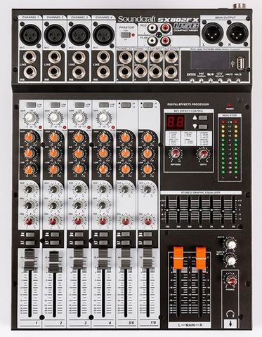 Imagem de Mixer Analogico Soundcraft SX802FS USB 8 Canais