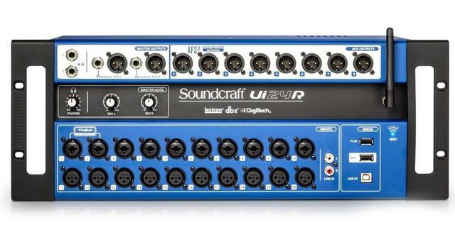 Imagem de Mixer Digital Soundcraft Ui24r Ui24 R Wifi