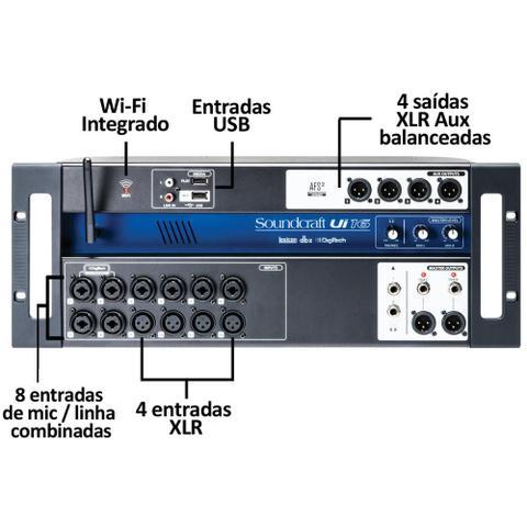 Imagem de Mixer Mesa De Som Digital UI-16 - Soundcraft