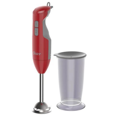 Imagem de Mixer Oster Versatile 250W com Copo 220V Vermelho e Inox 2610R