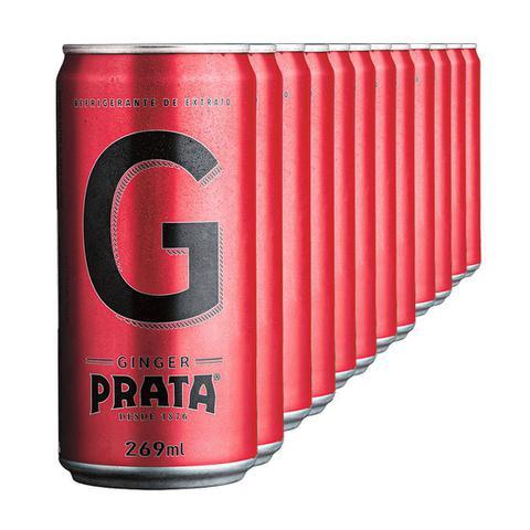 Imagem de Mixer Prata Ginger Lata 269ml - Pack com 12 Unidades