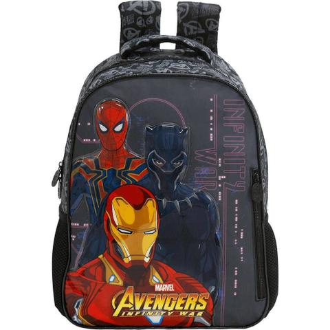Imagem de Mochila Avengers First Strike Marvel Vingadores 14 Xeryus