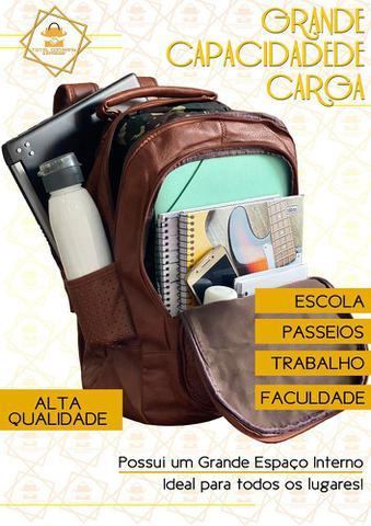 Imagem de Mochila Bolsa Feminina Faculdade Trabalho Notebook Reforçada Alto Padrão