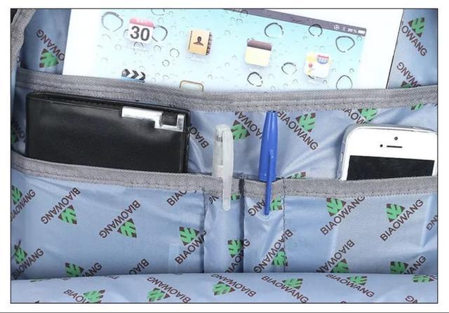 Imagem de Mochila Bolsa Notebook Masculina Feminina Resistente a Água