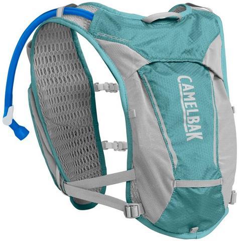 Imagem de Mochila de Hidratação Camelbak Circuit Vest Feminina 1,5 Litros Trail Running Azul com Cinza