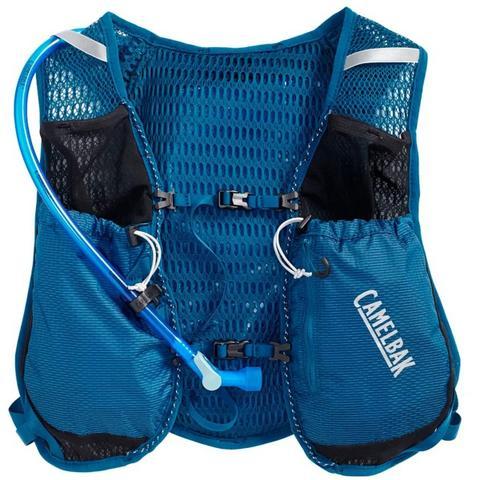 Imagem de Mochila de Hidratação Camelbak Circuit Vest Feminina 1,5 Litros Trail Running Azul com Preto